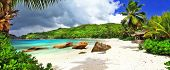 image of breathtaking  - tropical holidays in Seychelles  - JPG
