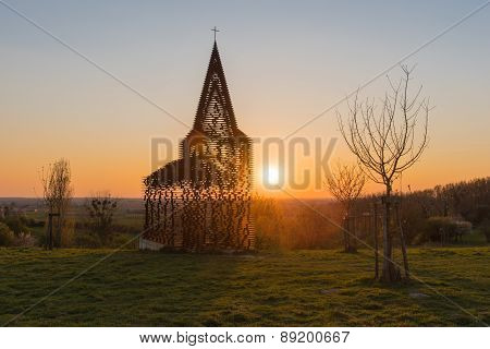 See Through Church Borgloon