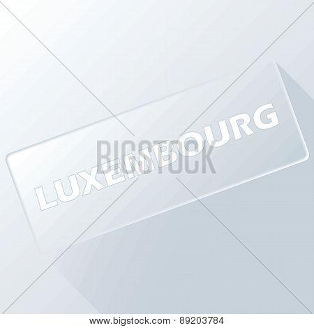 Luxembourg unique button