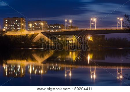 View Of Bridge Over The Volga-don Canal In Volgograd