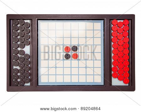 Table game isolated on white