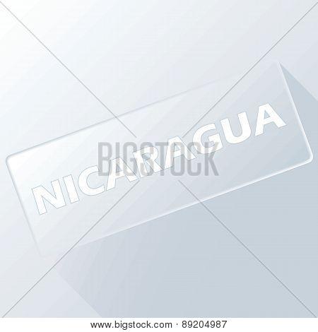 Nicaragua unique button