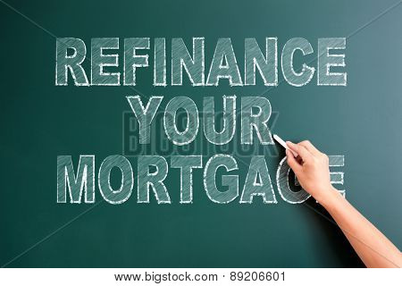 writing refinance your mortgage on blackboard