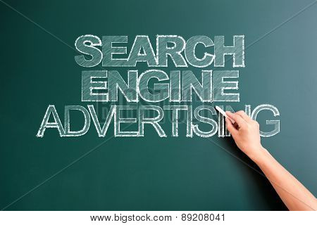 writing search engine advertising on blackboard