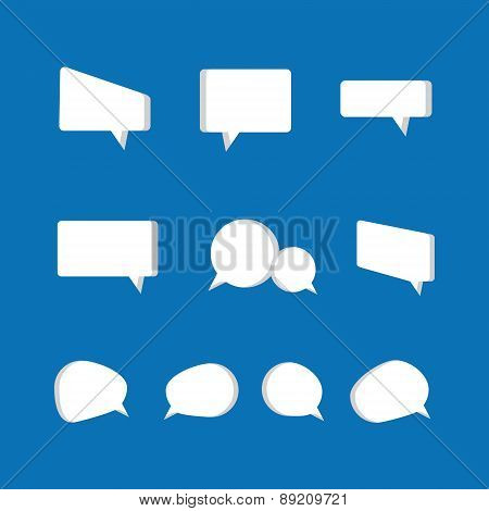 Speech bubbles icon