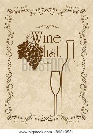 Menu Series: Wine List