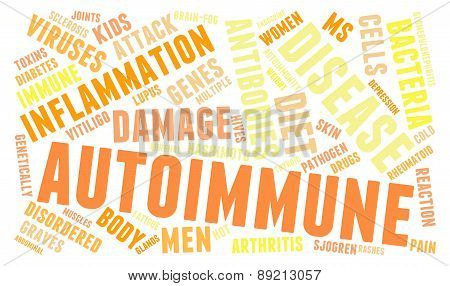 Autoimmune Word Cloud