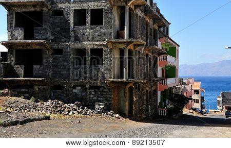 Home Construction In Achada Sao Filipe