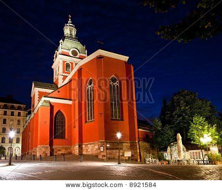 Sankt Jakobs Kyrka Church In Stockholm
