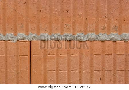 Hollow brick masonry