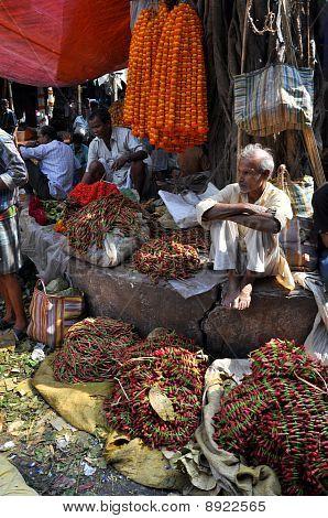 Flower Market In Kolkata