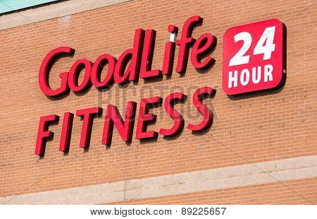 Goodlife Fitness Sign