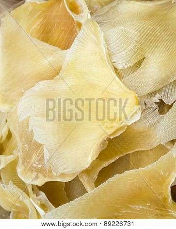 Dried shark fin for soup