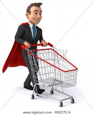 Super businessman
