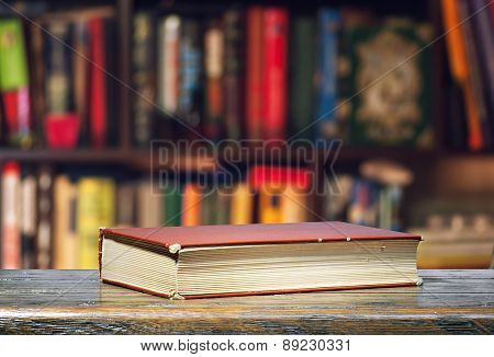 The Book Is On The Shelf