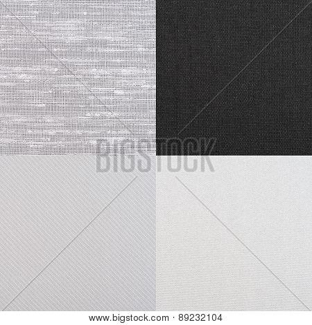 Set Of Grey Vinyl Samples