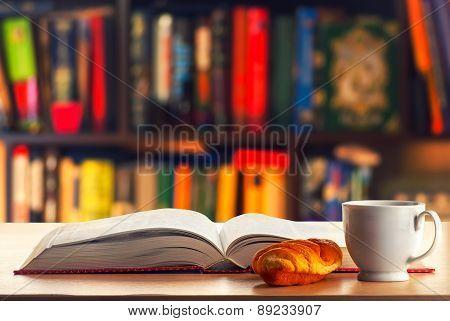 Bookshelf -background