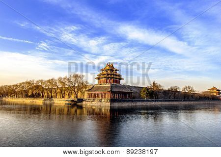 The Forbidden City in the morning