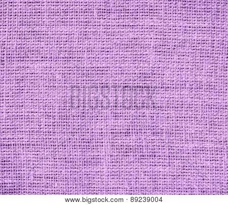 Bright ube color burlap texture background