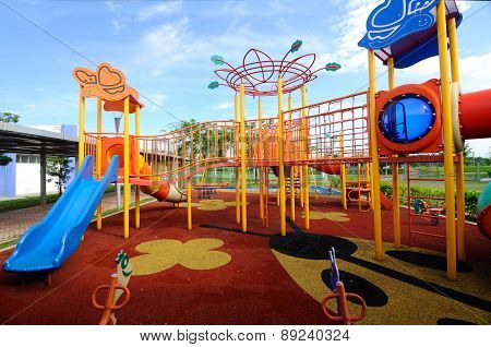 Children Outdoor Playground in Selangor, Malaysia