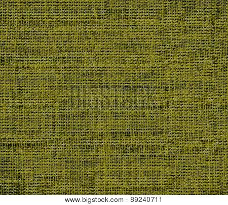 Bronze Yellow color burlap texture background
