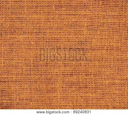 Bronze color burlap texture background