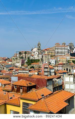 Scenic view of Porto city