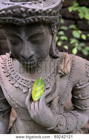 Asia Thailand Chiang Mai Wat Phan Tao