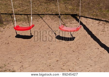 Red swings
