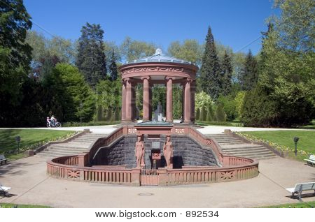 Kurpark Water Fountain