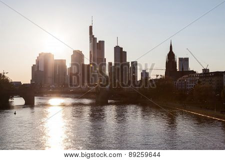 Frankfurt Downtown Skyline