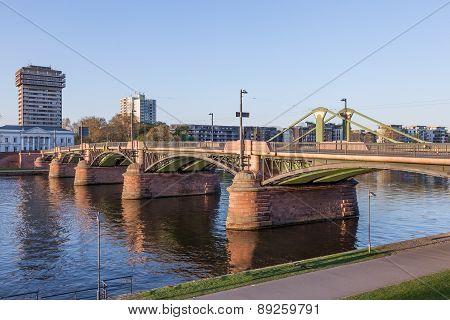 Bridge In Frankfurt Main