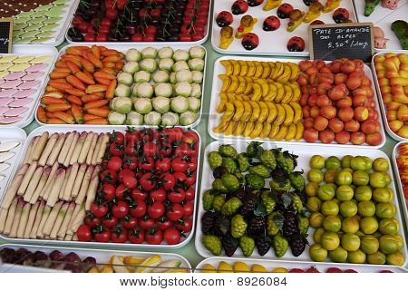 Sweets Like Fruit And Vegetables