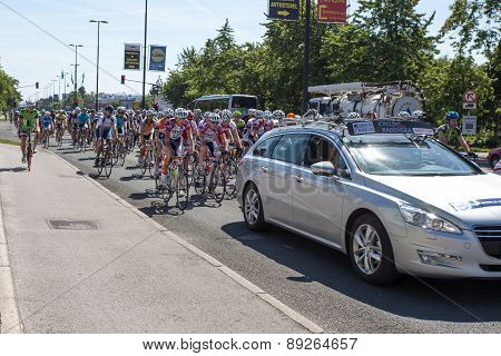 Traditional amateur cycling event Marathon Franja