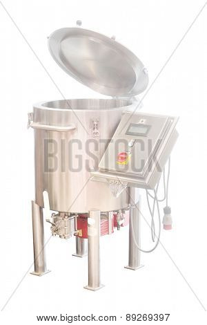 The image of a baking machine