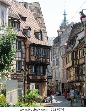 Pretty Old Town Colmar