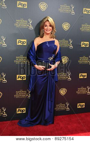 BURBANK - APR 26: Deirdre Hall at the 42nd Daytime Emmy Awards Gala at Warner Bros. Studio on April 26, 2015 in Burbank, California