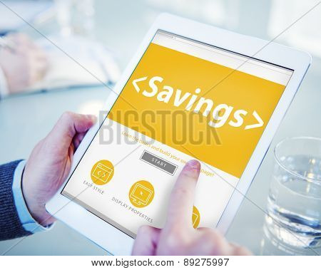 Saving Money Business Budget Financial Banking Concept