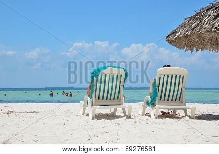 CAYO BLANCO, CUBA - MAY 2, 2014.