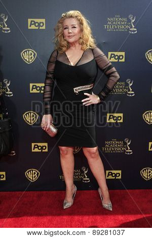 BURBANK - APR 26: Melody Thomas Scott at the 42nd Daytime Emmy Awards Gala at Warner Bros. Studio on April 26, 2015 in Burbank, California