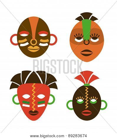 Africa design over  background vector illustration