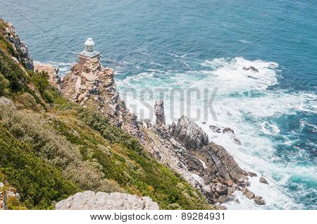 New Lighthouse At Dias Point In Cape Point.
