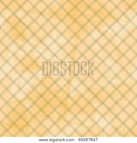 Orange Striped Grungy Paper Seamless Background Eps10