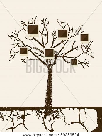Family design over beige background vector illustration