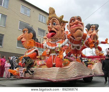 2014 Carnival Parade, Aalst