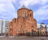 picture of apostolic  - Cathedral Armenian church Surb Khach  - JPG
