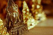 pic of buddha  - Buddha statues Face of gold buddha Thailand Asia - JPG