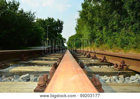 Three gauge track