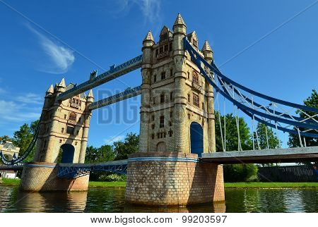 Tower Bridge in miniature