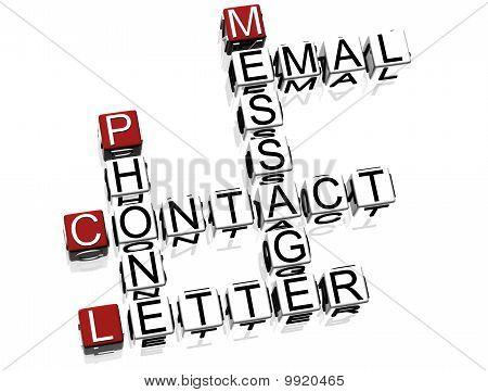 Contact Crossword